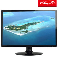 High quality 1440x900 19 inch 16:10 led monitor VGA DVI input built in speaker