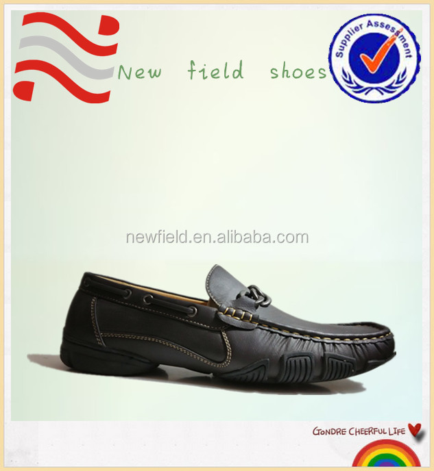 2013 fancy casual style wholesale men's leather PU flatforms shoes for men