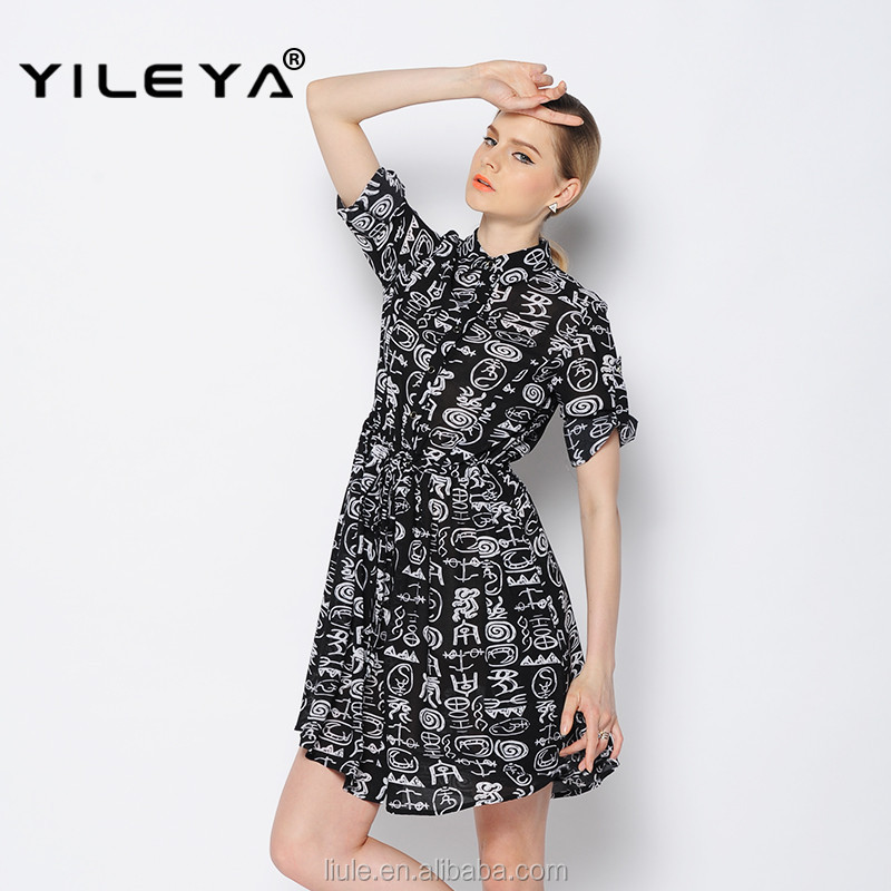 floral chiffon style women casual long pretty summer dress, plus womens clothing