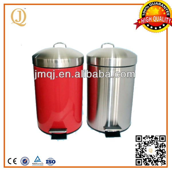 household stainless steel soft close trash can bulk trash cans for kitchen