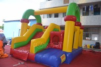Channal cheap commercial inflatable bouncer combo,inflatable jumping castle,inflatable air castle
