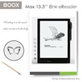 latest 13.3 inch Carta screen flexible display high resolution ebook reader support more than 20 book's format