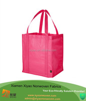 Rose Red Pop-out pp Non-woven shop tote shopper bags eco handles bags