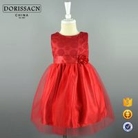 wholesale latest designs long sleeve summer winter child garment lace hollow out dress