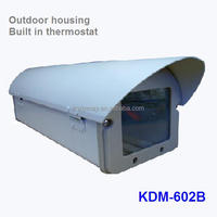 Indoor Outdoor aluminum alloy heater fan surveillance camera housing