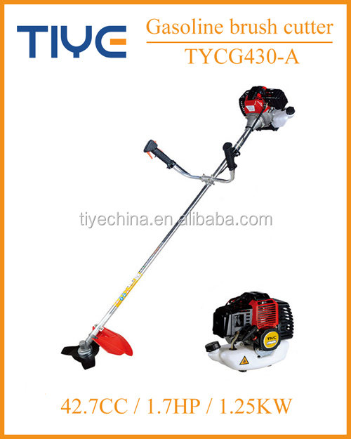 China grass trimmer grass cutting machine 25.4cc