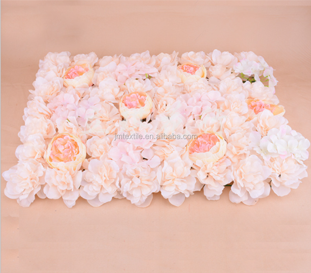 factory price artificial flower for wall decoration rose flower wall for wedding supplies