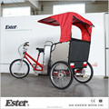 ESTER New Fashion Three Wheel Rickshaw for Family