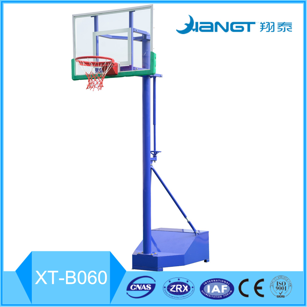International standard portable and movable gym equipment basketball stand