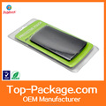 High Frequency seal clamshell packaging for leather case