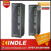 free standing standard galss door fronted storage area network with 31 years experience