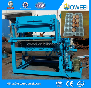 Easy operation used paper egg tray make machine manufacture