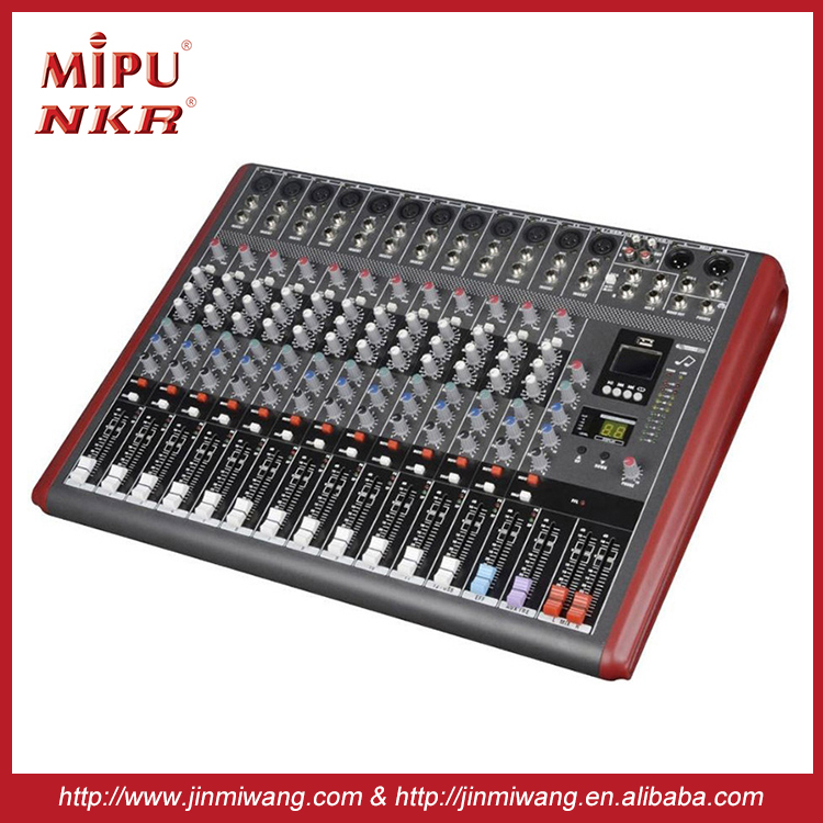 High Quality Professional Audio Mixer N-12USB Professional sound power mixer