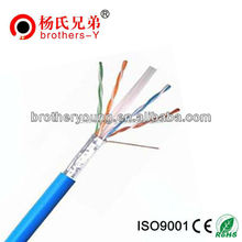 shenzhen brother young amp cat6 cable / 100 pair cat6 lan cable