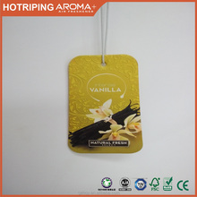 car air freshener hanging paper air freshener customized smell