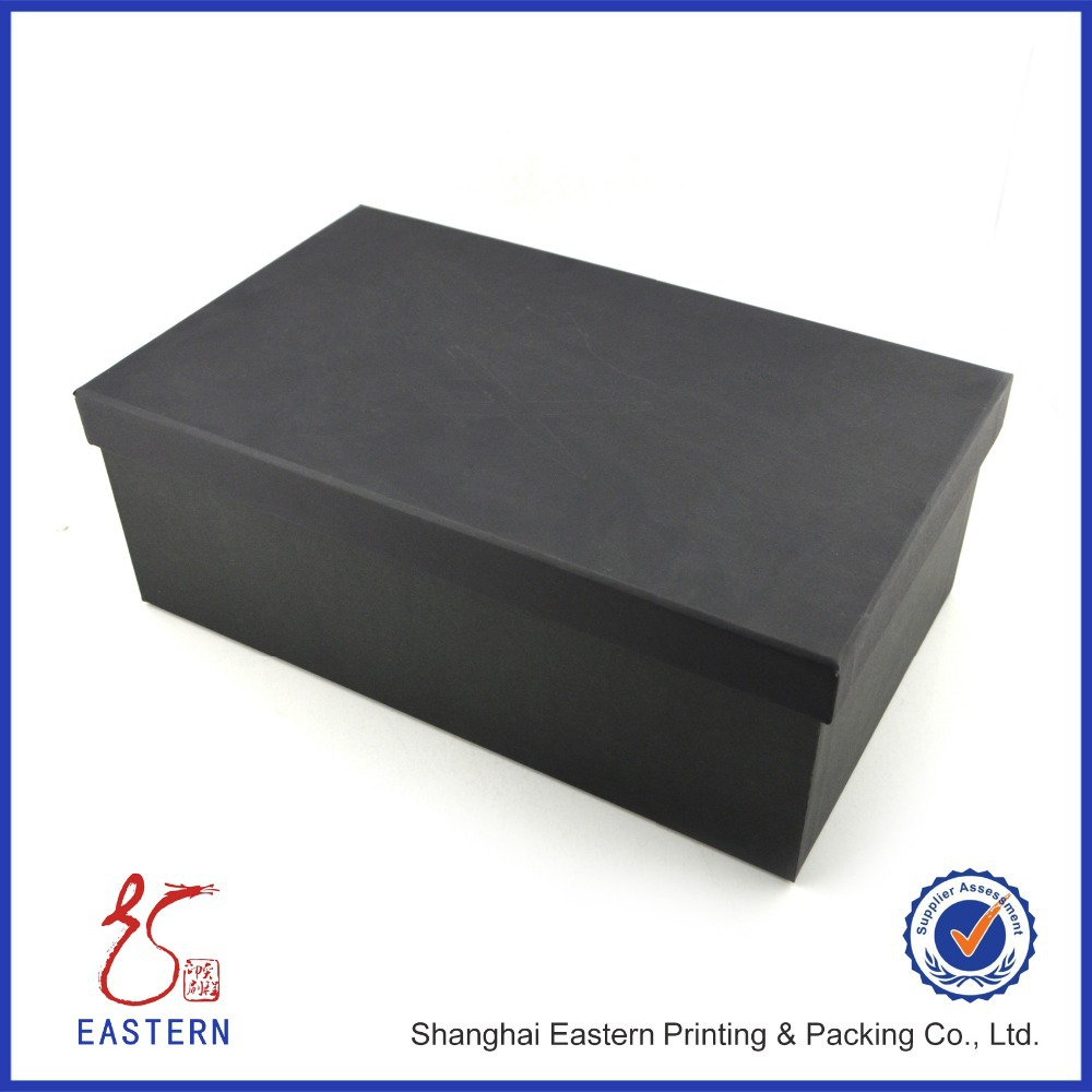 custom printed matt black cardboard shoe box for sale buy shoe box for sale black cardboard. Black Bedroom Furniture Sets. Home Design Ideas
