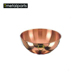 China OEM customized high quality metal spinning Brass Copper bowl