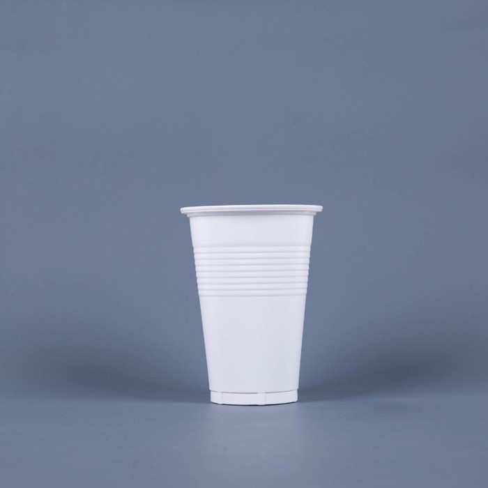 PP translucent wholesale cheap bulk disposable plastic tea cup