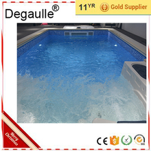 Degaulle Hot Sale Portable Water Jet Wave Machine Infinity Swimming Pool