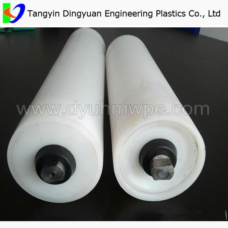 carrying idler/ uhmwpe conveyor belt guide <strong>roller</strong>