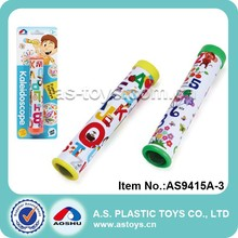 25mm kids toy plastic kaleidoscope for promotion