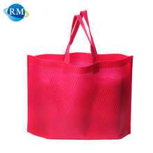 Rongmei New Arrival Supermarket Non Woven PP Foldable Tote Bag