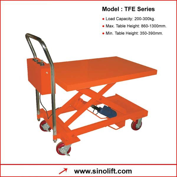 TFE Series Small Electric Lift Table