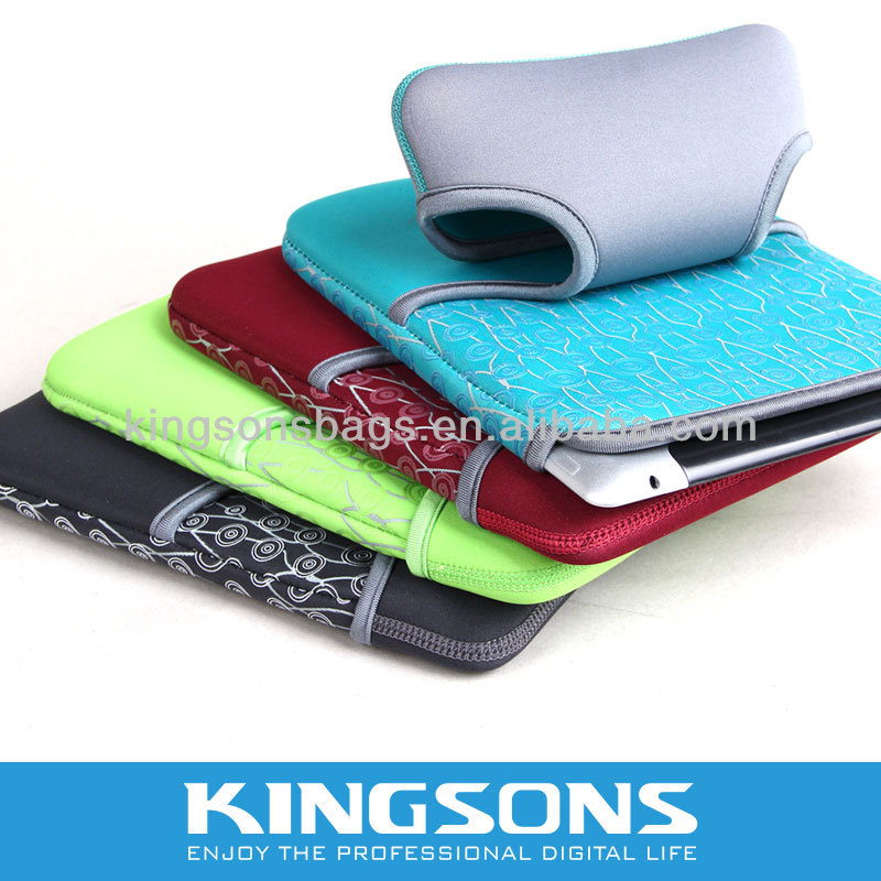 colorful branded china made Neoprene Laptop Sleeve for tablet