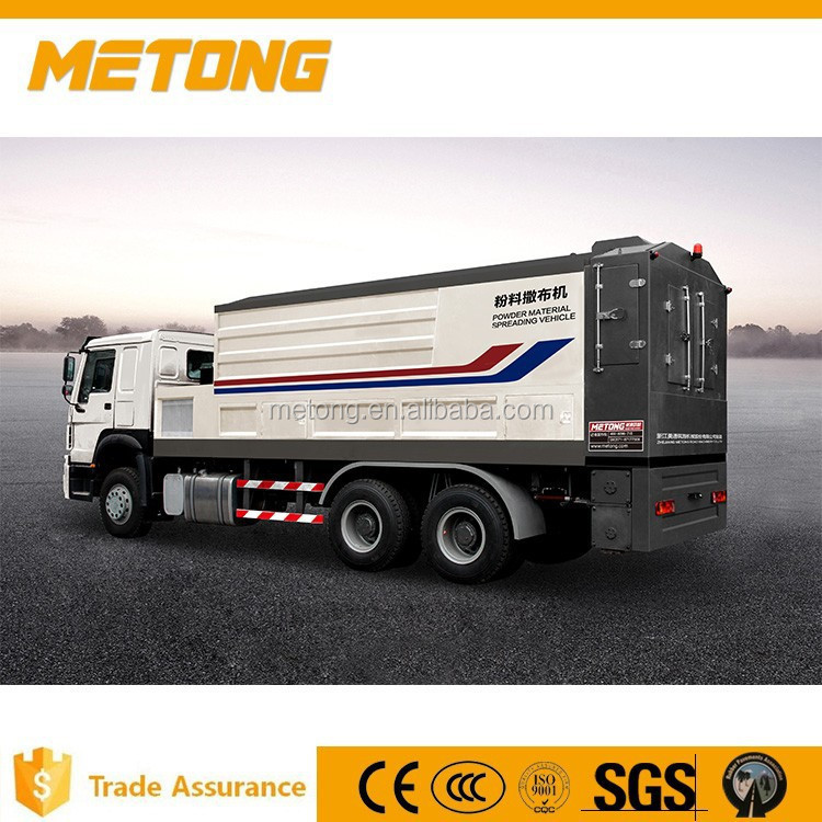 Metong New High Efficiency Road Construction Machine Lime Powder Spreader Truck with 3C,SGS,,ISO9001