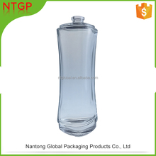 100ml tall glass bottle, unique style perfume bottle China wholesale