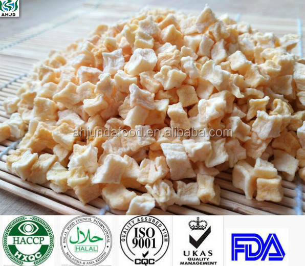 wholesale new dried apple dices/rings/flakes at a reasonable price