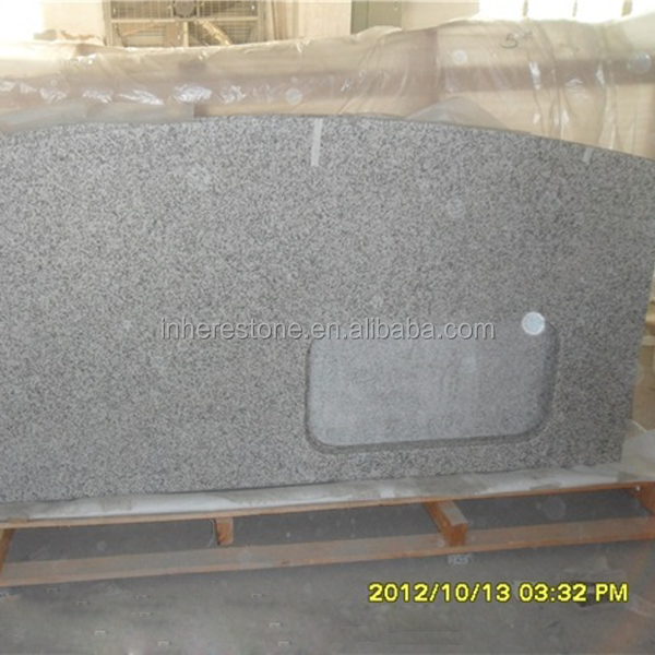cheap g655 speckled granite countertops