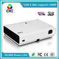 100,000:1 contrast ratio 3000 lumens 1280x800 download hindi video hd songs andorid dlp led 3d projector cre x3001