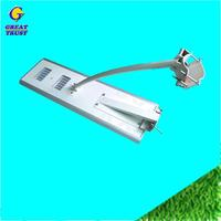 Hot selling ip67 100w all in one integrated solar photo cell high power newest design led street light with low price