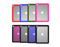 Simple slim ant-skid bumper hard clear PC case for New iPad 2017 full body cover