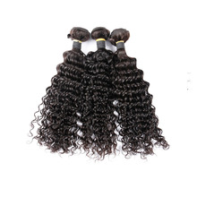 Thick bottom dyeable 8-30 inch deep wave hair weave factory price virgin Peruvian human hair bundles