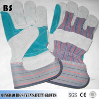 A/B Brade Cow Heat-resistant Welding Industrial Use Leather Gloves