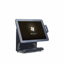 Manufacturer 15 inch Integrated MSR capacitive touch cash register pos system