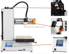 The new high precision small size desktop level school education learning home 3D printer