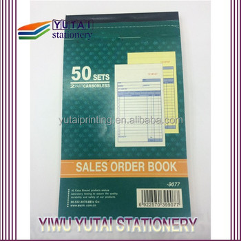 invoice duplicate book printing bill book design view bill book
