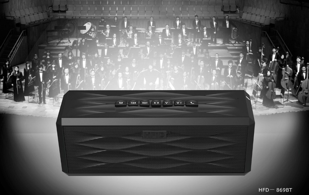 High Definition Sound Qualität bluetooth 5,0 lautsprecher tragbare
