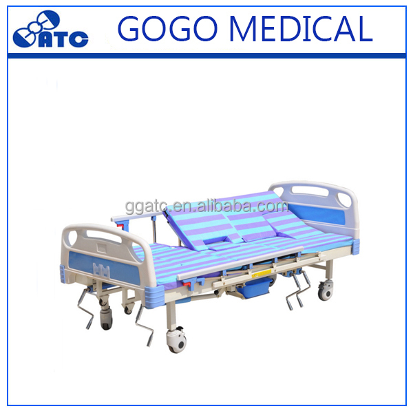 Hot sale height adjustable bed manual hospital electric bed for home use sale