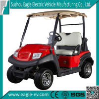 CE approved China made 2 seat battery powered electric aluminum golf cart