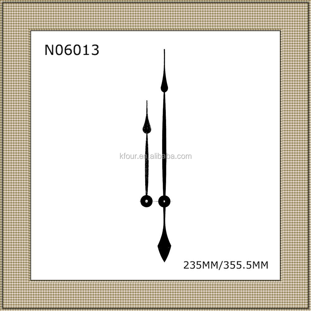 Aluminum Long Clock Hands/Clock Needles/Clock Arrows