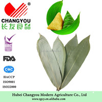 Nutrition dried raw material bamboo leaves