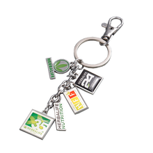 Wholesale High Quality Promotional Holiday Tourist Custom Metal Souvenir Keychain Manufacturers In China