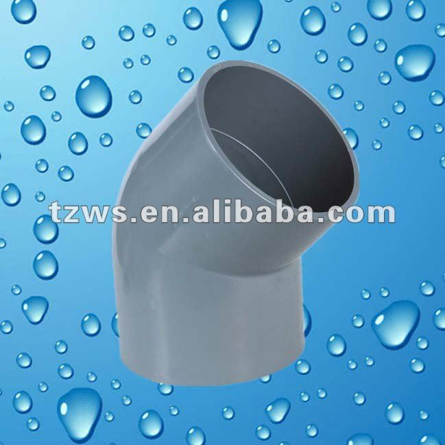 High Pressure Resistance PVC 45deg Elbow Fittings