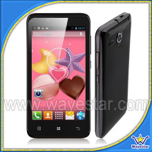 4.5 inch Capacitive Touch Screen MTK6572 celular 2 chips 3G Low Cost celulares android