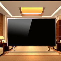 65-inch large-screen LCD thin voice network intelligent network steel aluminum TV