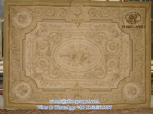 handmade flat weave french chinese wool aubusson rugs